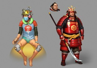 Koncepty tokijských postav